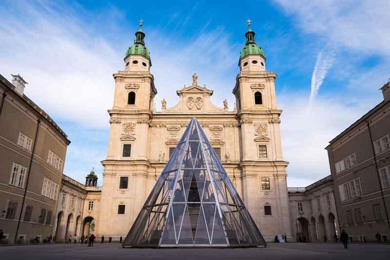 Зальцбургский собор в солнечный день