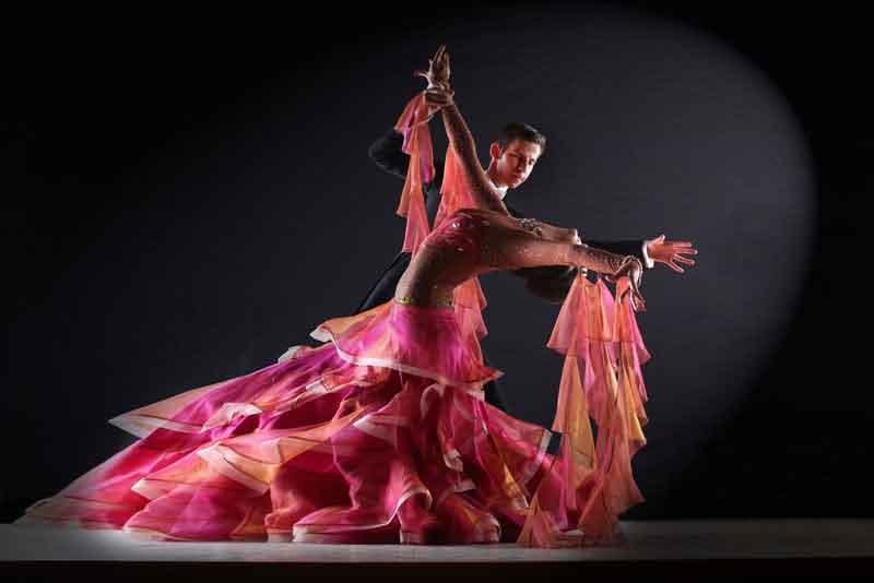 Профессиональные танцоры танго