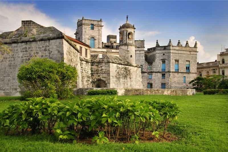 Вид на замок 'Ла-Фуэрса' в Старой Гаване