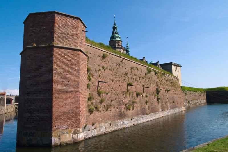 Стены замка Кронборг