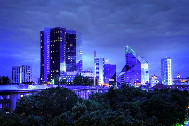 Панорамний вид города