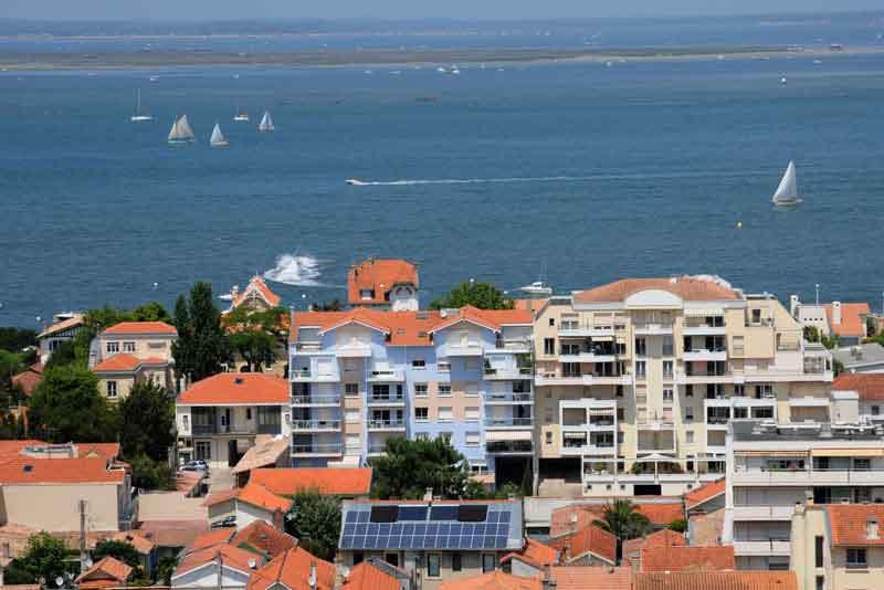 Вид на город и Атлантический океан