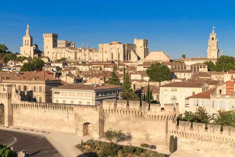 Вид на город и Папский дворец