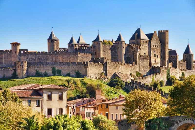 Замок города
