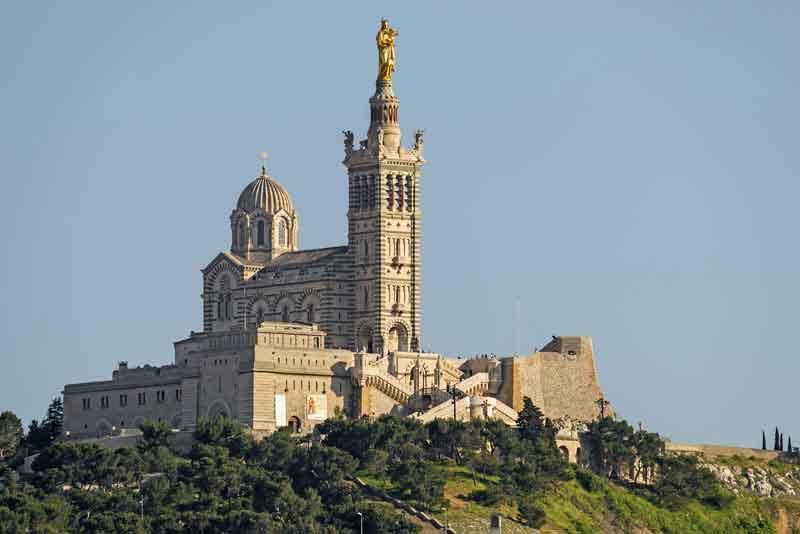 Исторический церковь 'Нотр-Дам де ла Гард'