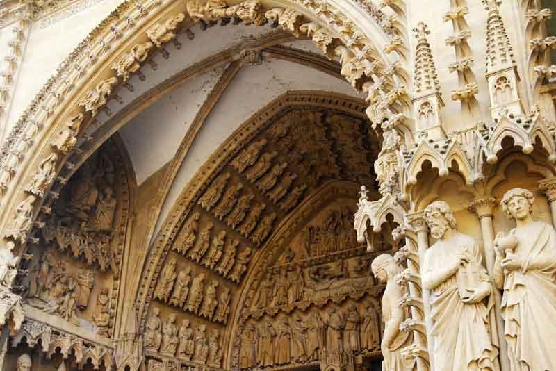 Фрагмент собора Сент-Этьен-де-Мец