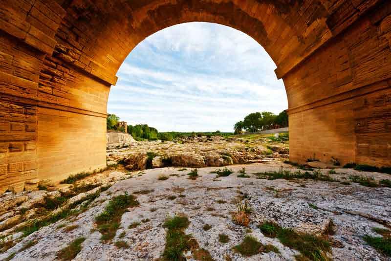 Древний римский акведук