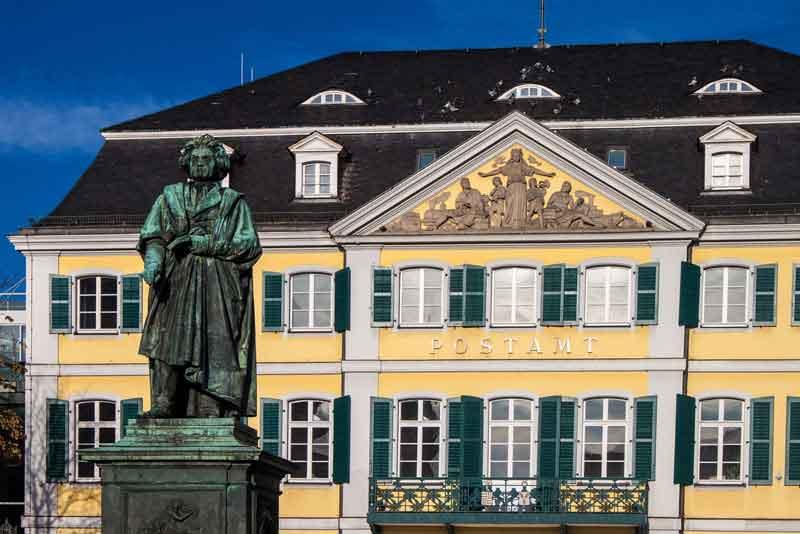 Бетховен Памятник на Мюнстерплац