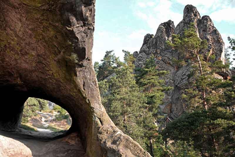 Стена дьявола в Национальном парке