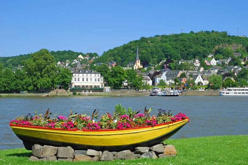 Вид со стороны Рейна
