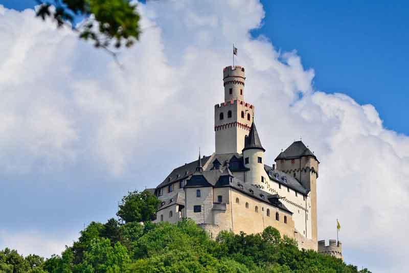 Долина Рейна. Замок Марксбург