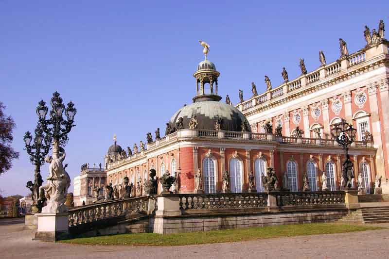 Новый дворец в парке Сан-Суси