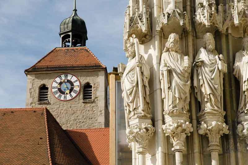 Вид средневекового города