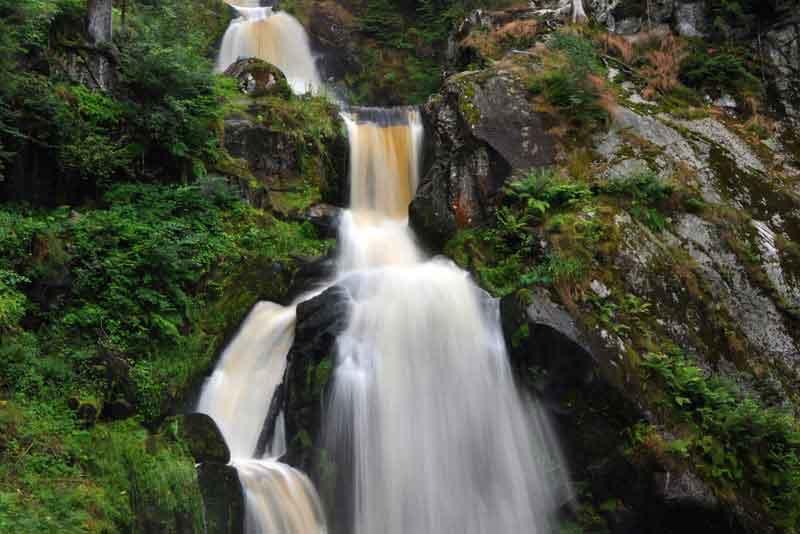 Один из уровней водопада