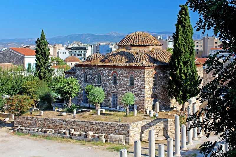 Средневековая византийская церковь