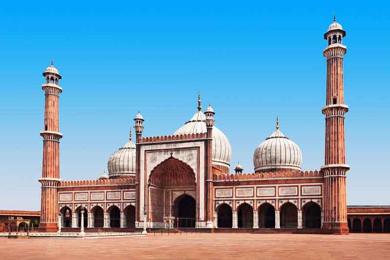 Джама Масджид - основная мечеть Старого Дели