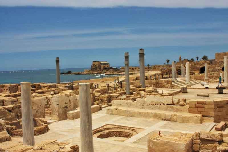 Древний римский город