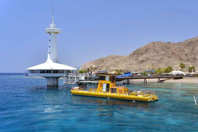 Коралловый риф и морская подводная обсерватория