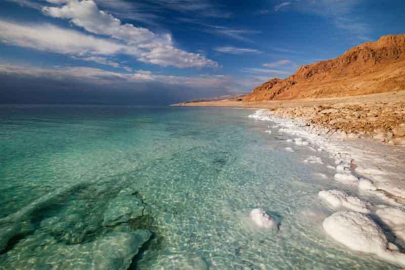 Береговая линия Мёртвого моря