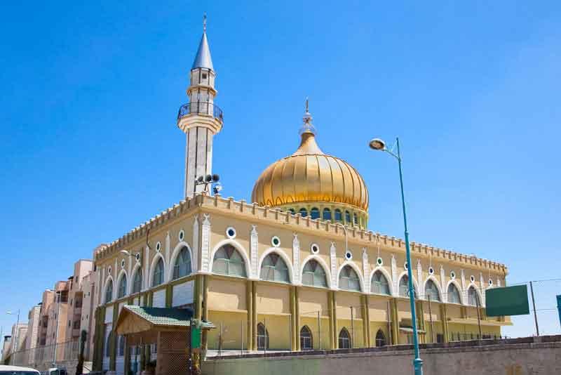 Минарет и мечеть Наби Сайн