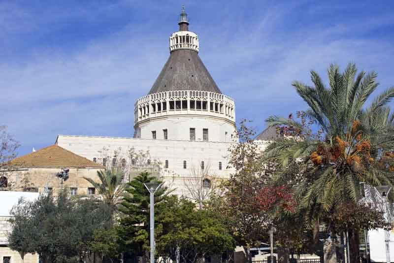 Базилика Благовещения на месте дома Девы Марии