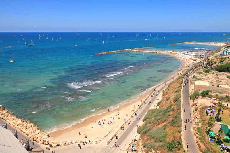 Пляжи и побережье города