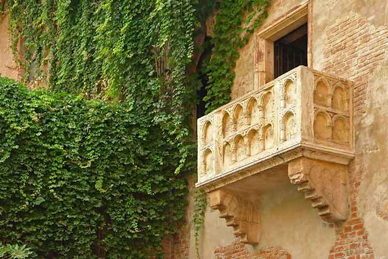 Балкон Ромео и Джульеты