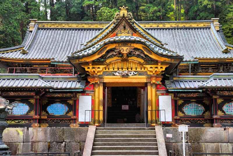 Храм Ринно-дзи большого храмового комплекса