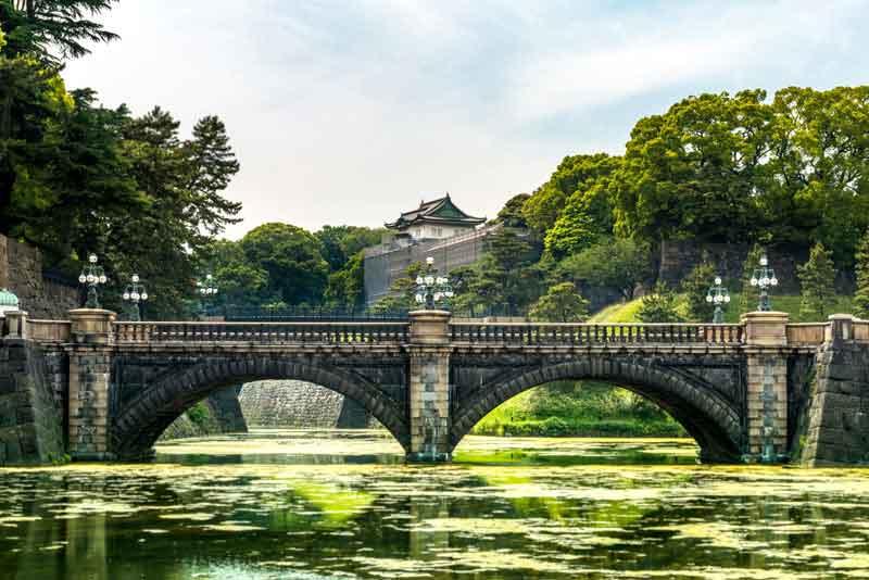 Каменный мост главных ворот Императорского двореца