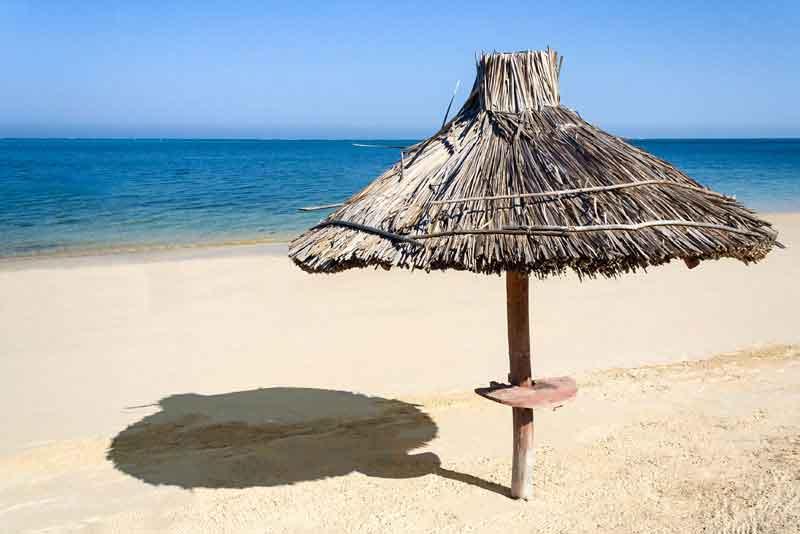 Пляж на берегу Мозамбикского пролива