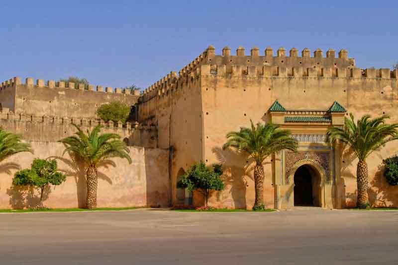 Дворец короля Марокко