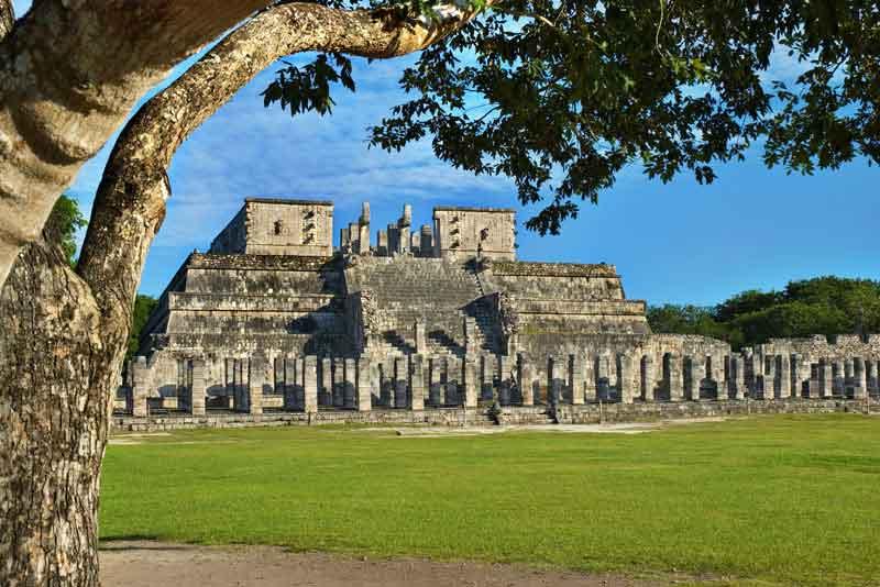 Храм Воинов (руины Майя)