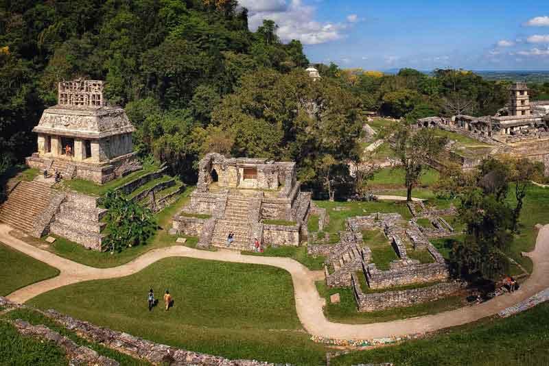 Руины майя:Дворец и обсерватория