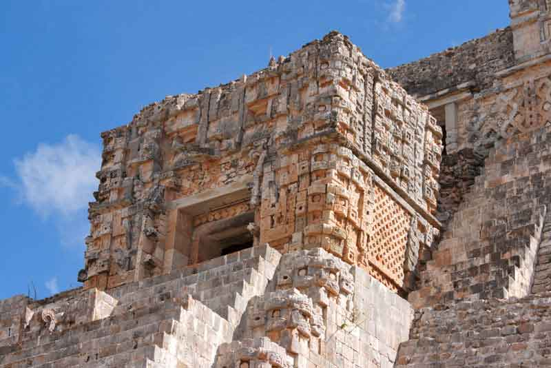 Древняя пирамида майя