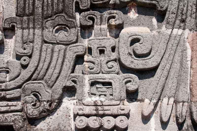 Символ в храме Пернатого Змея