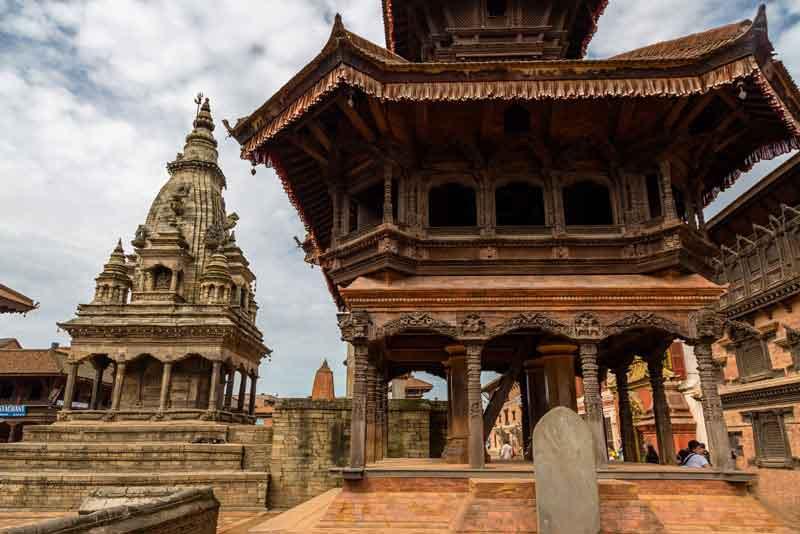 Храм Пашупатинат на площади Дурбар