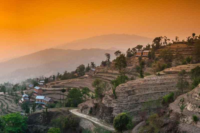 Нагаркот, долина Катманду