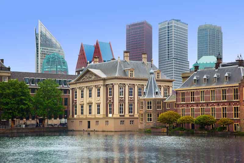 Дворец Бинненхоф - голландский Парламент