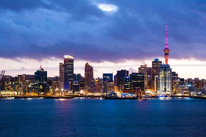 Вид на самый большой город страны