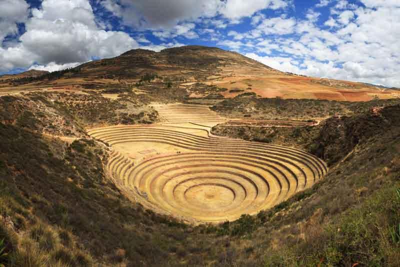 Земледельческие террасы инков