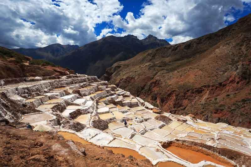 Вид соляные пруды