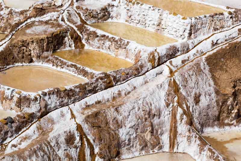 Традиционная соляная шахта инков