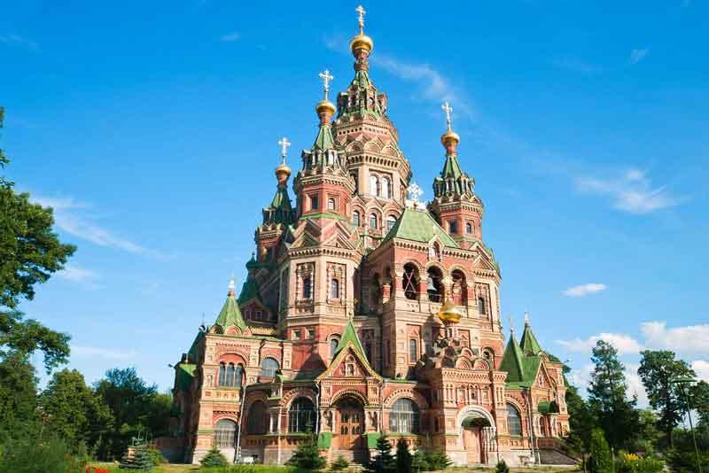 Церковь Св. Петра и Павла в Петергофе
