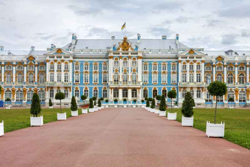 Екатерининский дворец в Царском Селе (Пушкино)