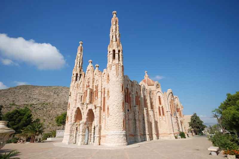 Святилище Святой Марии Магдалины (архитектор Гауди)