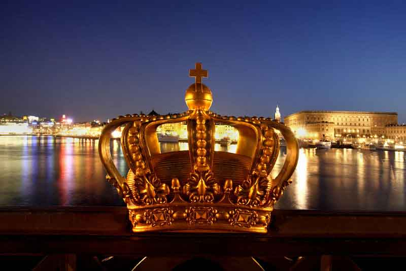 Шведская королевская корона
