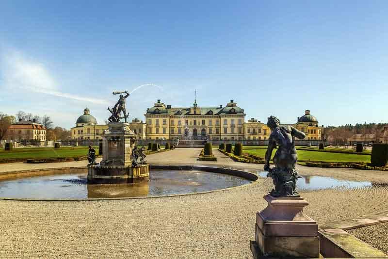 Дворец Дроттнингхольм - королевская резиденция