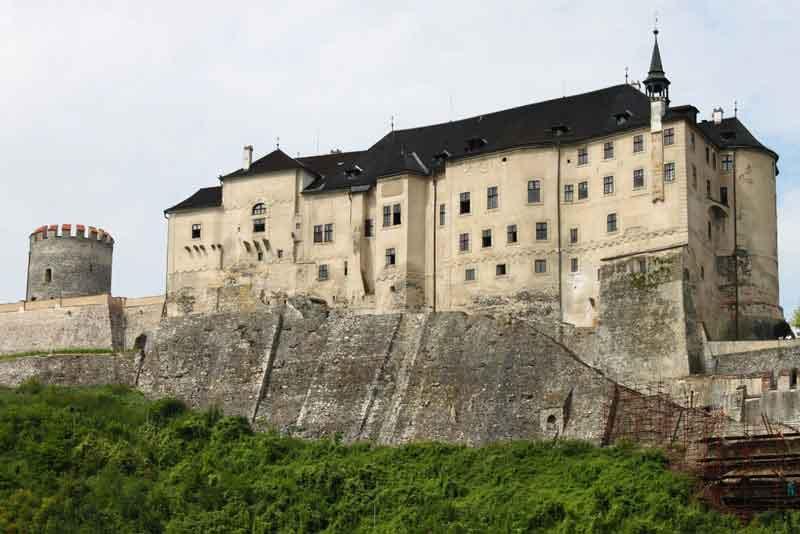 Вид на замок Штернберг