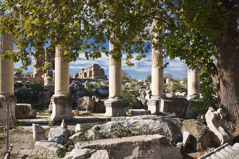 Ионические колонны