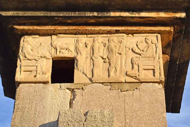Знаменитый гробниц Гарпия